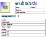 Vorlage französisch steckbrief auf Vorlage Steckbrief